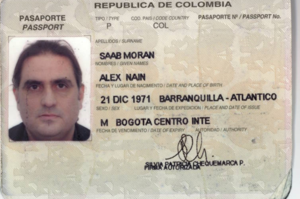 Colombia's Justice catches up with Alex Saab, DEA follows ...
