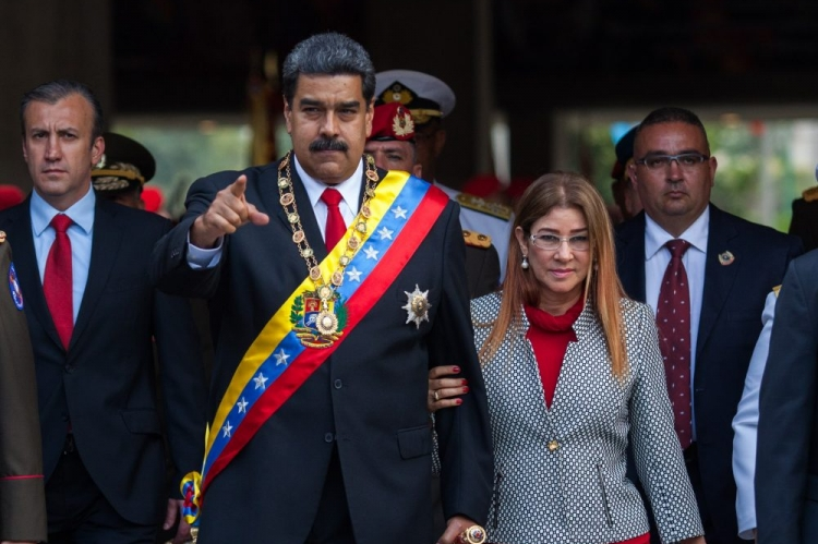 Venezuela's power couple: Nicolas and Cilia