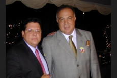 Wilmer Ruperti with his compadre (narco) Alex del Nogal